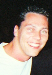 Tiësto in Sant Antoni, Ibiza, prior to performing at Amnesia, July 2000