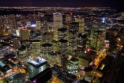 View of Toronto's Financial District