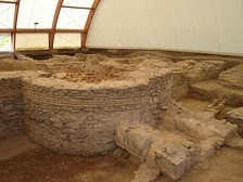 Ruins of Thermae at Viminacium.