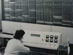 Vitosha computer produced in Bulgaria in the 1960s