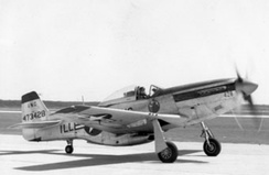 F-51D-25-NA Mustang (s/n 44-73428) from the 169th Fighter Squadron