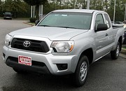 2012 model year Tacoma extended cab 4 cylinder (US)