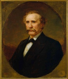Portrait of Governor Bate by George Dury