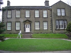 The parsonage in Haworth, the former family home, is now the Brontë Parsonage Museum.