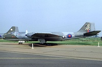 English Electric Canberra PR.7, much like what No. 17 Squadron operated from 1956 to 1969.