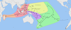 The Austronesian Expansion(3500 BC to AD 1200)