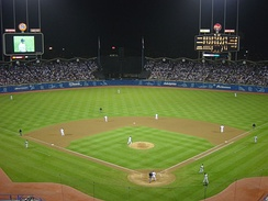 Dodger Stadium in 2002
