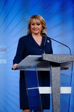 Governor Fallin at 2015 Southern Republican Leadership Conference in Oklahoma City, Oklahoma