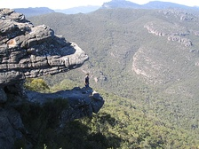 The Balconies (formerly known as the 'Jaws of Death') - Grampians National Park, Victoria, Australia