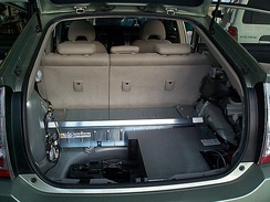 Hybrids Plus plug-in hybrid Toyota Prius conversion with PHEV-30 (30 mile or 48 km all-electric range) battery packs