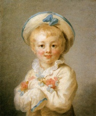 Jean-Honoré Fragonard: A Boy as Pierrot, between 1776 and 1780.  The Wallace Collection, London.