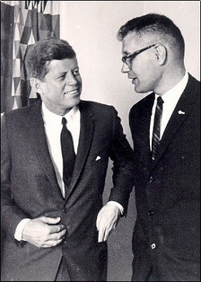 Rep. Dingell with President John F. Kennedy