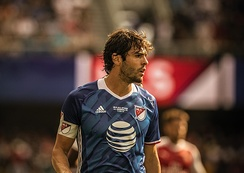Kaká with MLS All-Star team in 2016