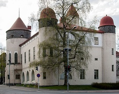 Museum in Kuopio, Finland. The art nouveau style building was designed by architect J. V. Strömberg and completed in 1907.[38]