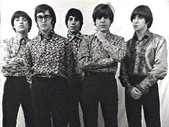 "Los Gatos in 1967. With their single ""La balsa"", they turned the movement into a massive youth phenomenon."