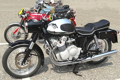 MV Agusta 600 with disc brakes from 1967[111]