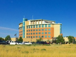 Metro Health Hospital, the largest employer in Wyoming.