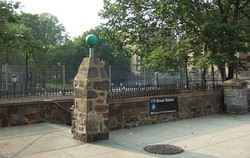 Entrance to the 175th Street station at 175th St. and Ft. Washington Avenue
