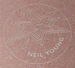 Young's Star on Canada's Walk of Fame