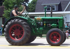 Oliver 80 tractor