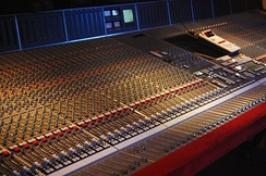SSL SL9000J (72 channel) console at Cutting Room Recording Studio, NYC