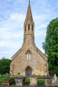 Built in 1841, St Peter's in Stretton-on-Fosse in the Cotswolds is a Grade II listed building.