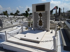The tomb of Compay Segundo