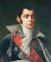 Portrait of Anne Jean Marie René Savary in diplomatic uniform