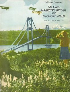 Program for the opening of McChord Field, 3 July 1940