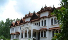 The Oriental Research Institute & Manuscripts Library is situated in the Kariavattom Campus of University of Kerala
