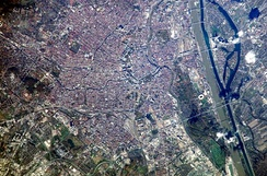 Satellite image of Vienna (2002)