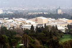 Warner Brothers Studios in the San Fernando Valley