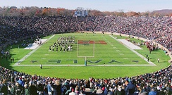 The Yale Bowl in 2001 during the annual football game played between Harvard and Yale