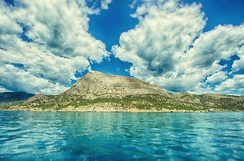 The bay of Sudak, Crimea