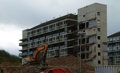 Demolition of Connaught Estate, 2015