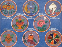The Eight Auspicious Signs of Buddhism