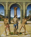 Flagellation of Christ, by Bacchiacca