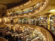 El Ateneo Grand Splendid was named the second most beautiful bookshop in the world by The Guardian.[280]
