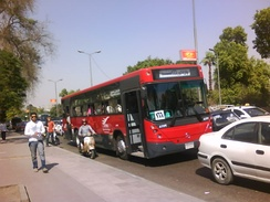 Public bus service organized by Cairo Transport Authority