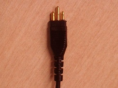 A direct audio input connector