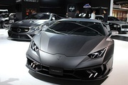 Mansory tuned cars at the 2015 International Motor Show Germany