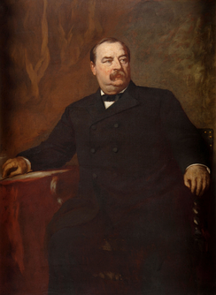 Gubernatorial portrait of Grover Cleveland