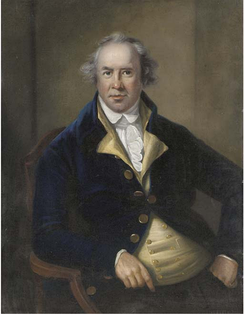 George James Bruere, in office from 1764 to 1780, the longest-serving of all Bermuda's Governors