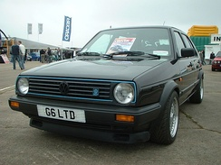 A rare Volkswagen Golf Mk2 G60 Limited hot hatch - one of only 71 produced