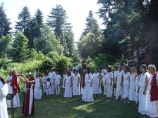Ritual performed by Supreme Council of Ethnikoi Hellenes, an organization preserving Hellenic Paganism, the Ancient Greek Religion.