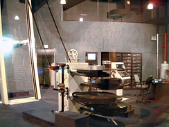 The control room of an IMAX Dome Theatre