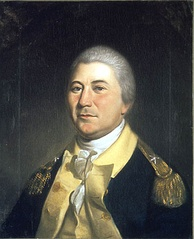 Brigadier general James Mitchell Varnum (class of 1769) served in the Continental Army and advocated the enlistment of African Americans, which resulted in the reformation of the 1st Rhode Island Regiment as an all-black unit. Painting by Charles Willson Peale, 1804