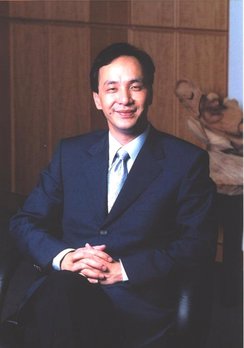 Eric Chu, incumbent Mayor of New Taipei City