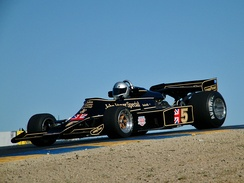Lotus F1's livery was based on the John Player Special livery used by Team Lotus in the 1970s and 1980s.