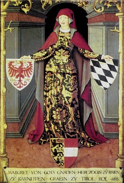 Margaret, Countess of Tyrol, heiress of the Meinhardin dynasty